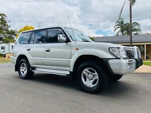2001 TOYOTA LANDCRUISER PRADO 50TH ANNIVERSARY AUTO ONLY 175,000KM Camden Camden Area Preview