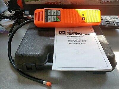 Tif Tifxp-1 Extra Halogen Hawk Portable Automatic Leak Detector Refrigerant