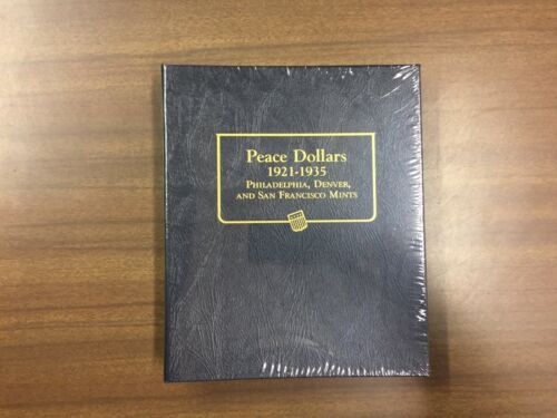 Whitman Classic Coin Album # 9130 For Peace Dollars from 1921-1935