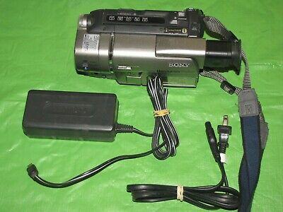 Sony Handycam CCD-TRV57 Video 8mm Analog Camcorder - Record Transfer Watch Hi8 @