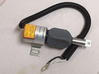 Fuel Stop Solenoid 185208 Mustang Mtl20 Track Loader Gehl Ctl70 Isuzu 4jg1-tpa