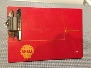 Shell Gas Station Clipboard.
