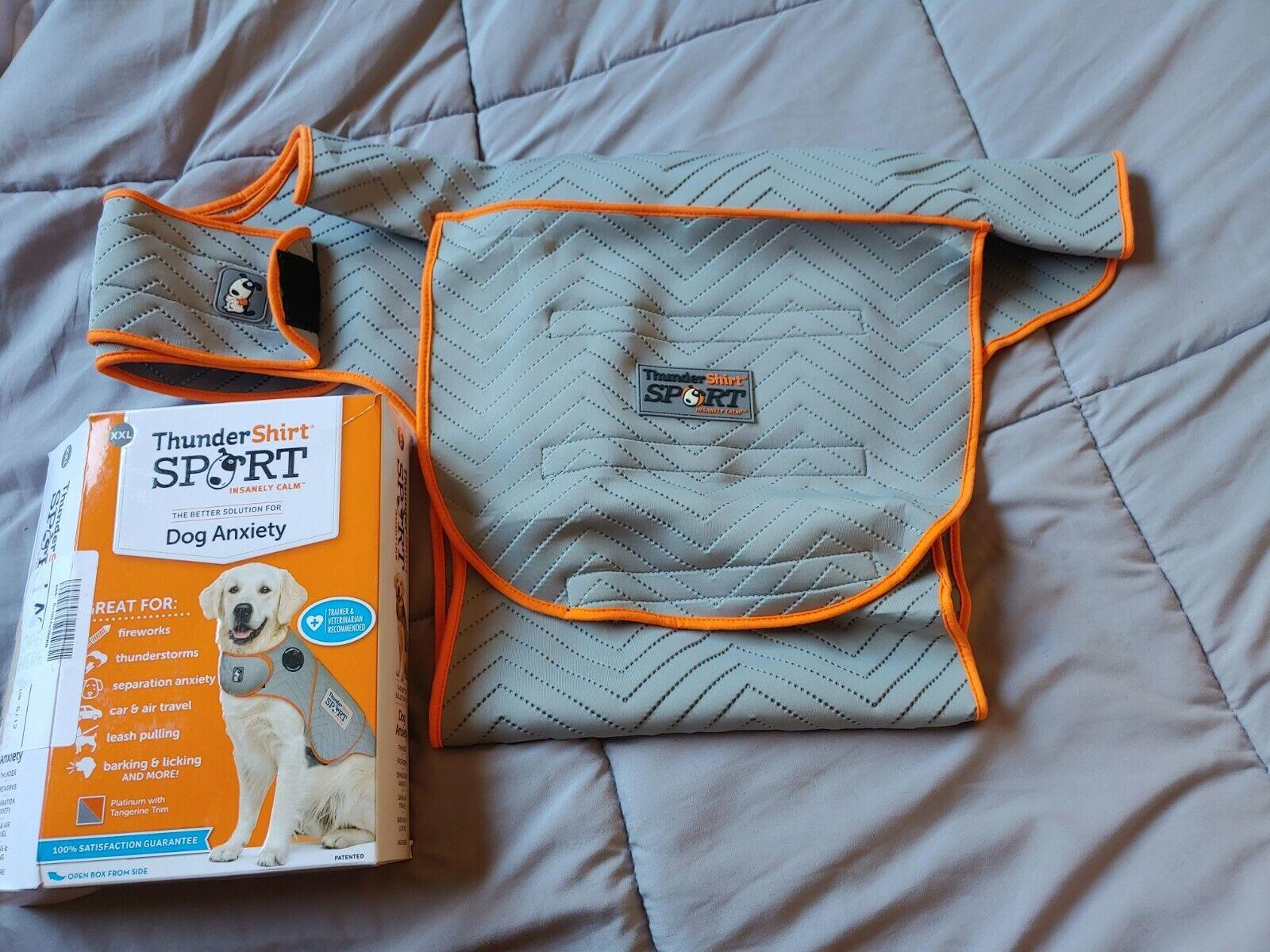 ThunderShirt Sport Dog Anxiety Vest Fireworks Thunder New Open Box XXL - $39.99