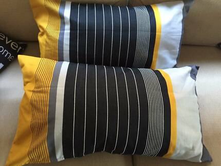 2 x Ikea Kornfibbla cushion covers and inserts Hilton Fremantle Area Preview