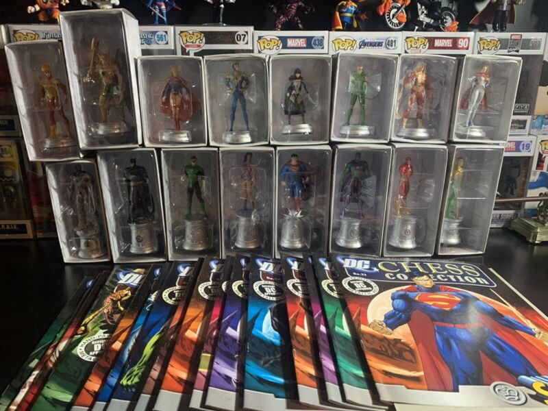 Eaglemoss DC Chess Collection 33-64 Justice League