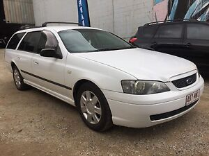 2005 Ford Falcon Wagon log book history . Milton Brisbane North West Preview