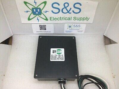 Sycom Syc-tca-208-3y 3-phase Wye Lightning Arrester Power Conditioner Surge