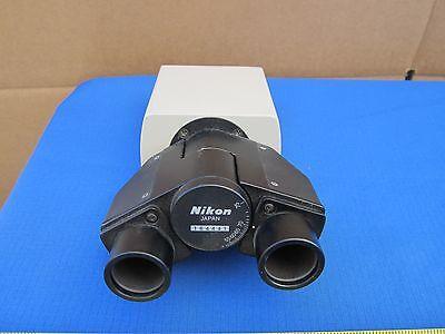 Microscope Part Binocular Head Nikon Japan As Is Binf8-01
