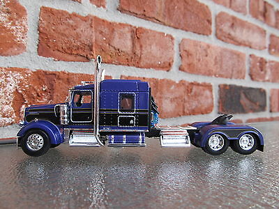 Dcp 1 64 Scale W 900 Kenworth Mid Roof Purple Black Seminole Stripe Tractor Only