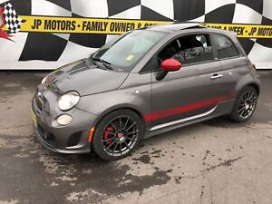 2013 Fiat 500 Abarth, Manual, Sunroof, 34, 000km