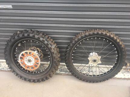 Ktm 300 exc off-road wheels Hobart CBD Hobart City Preview