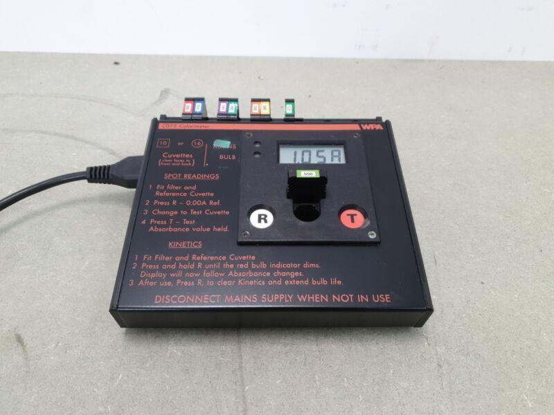 WPA CO75 Digital Colorimeter Lab
