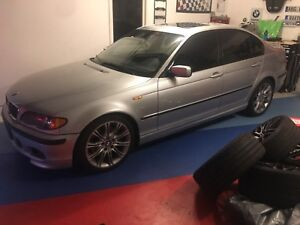 BMW E46 330i ZHP PART OUT (tires & rims)