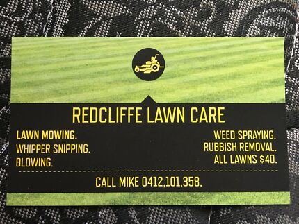 LAWN SERVICES  $40. ALL LAWNS