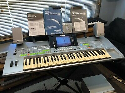 Yamaha Tyros 1 Keyboard With Speakers, Stand & Accessories (UK DELIVERY ONLY!)