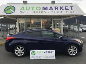 2013 Hyundai Elantra BLUETOOTH, LEATHER, SUNROOF, LTD.