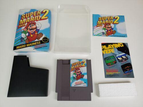 Super Mario Bros 2 NES CIB Tested Authentic - $192.50