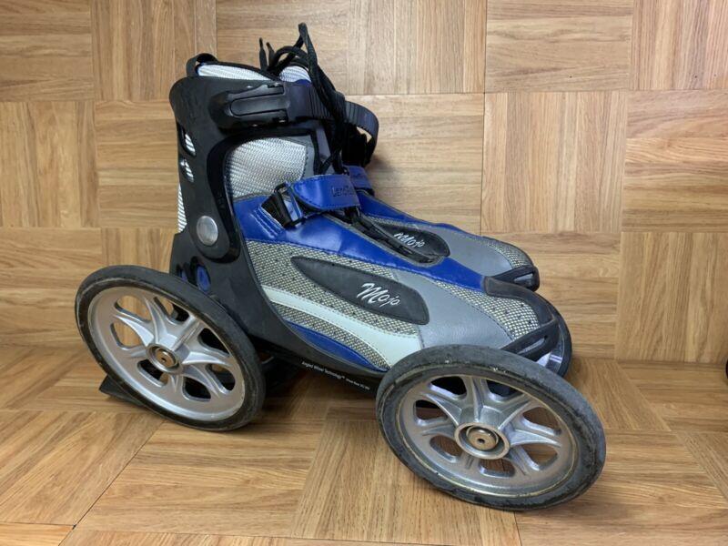 RARE🔥 LandRoller MOJO Angled Wheel Technology Skates Rollerblades 11 Cesar-911