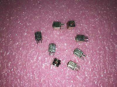 4 Piece Lot 6740-23 Caddell-burns Inductor Variable Rf Shielded 4.7-8.2uh