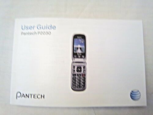 User Guide for Pantech P2030 in English and Spanish