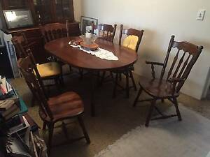 Dining table and chairs Artarmon Willoughby Area Preview