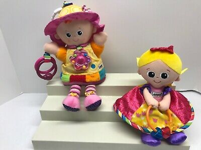 Lamaze My Friend Emily Princess Sophie Sensory Development Plush Crinkle Dolls