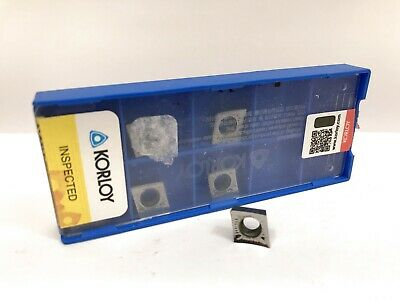 10 Korloy SPKR 53EDSR C5 Carbide Inserts Qty