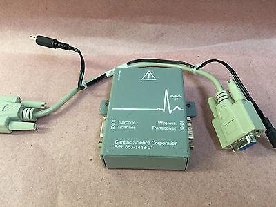 Cardiac Science Wireless Transceiver Barcode Scanner Io Module