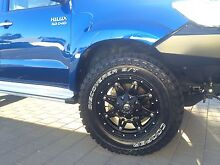 4x Fuel hostage rims with Cooper ST MAXX tyres Geraldton 6530 Geraldton City Preview