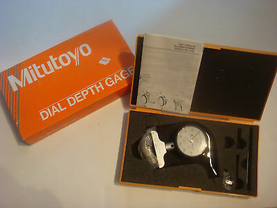Brand New Mitutoyo 7211 Dial Depth Gauge 0-2000.01mm