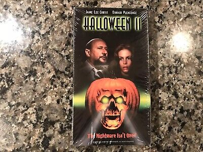 Halloween II New Sealed Vhs. Awesome 1981 Slasher.