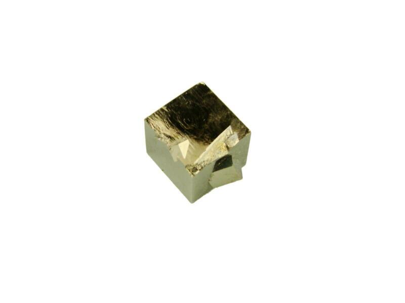 Navajun Spain Mine - Pyrite Cube Crystal With Display Case-#PC37