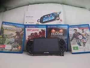 SONY PS Vita with games. Secret Harbour Rockingham Area Preview