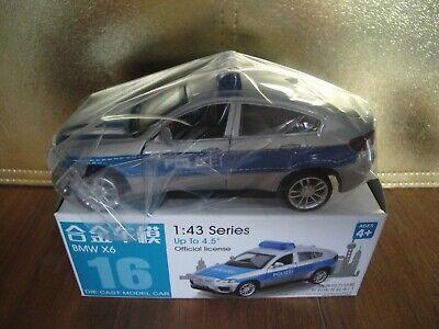 BMW X6 POLIZEI - 1:43 - CAIPO - MSZ 67016