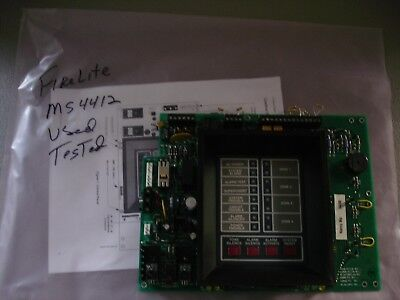 Fire Lite Ms-4412 Control Panel Usedtested