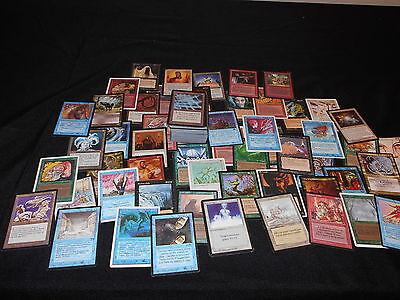 200 Old Magic Cards   Alpha Beta Nostalgic Lot Rares Oop Magic The Gathering Mtg