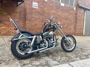 1976 Harley Davidson Shovelhead chopper North Toowoomba Toowoomba City Preview