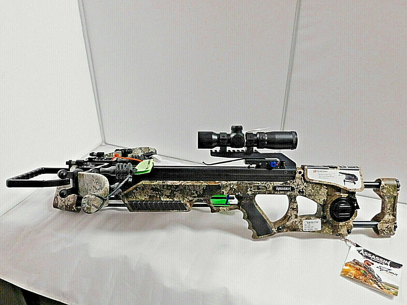 Excalibur Assassin 360 Strata Camo Crossbow Packagew/ Tact Z