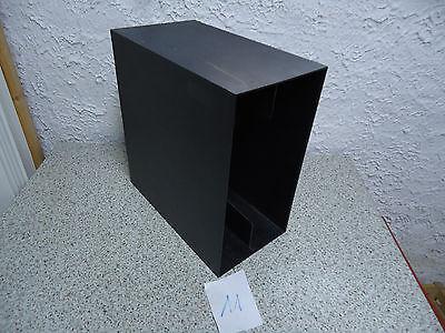 70er Jahre LP-Ständer - Box  70s Record Rack schwarz Nr.11