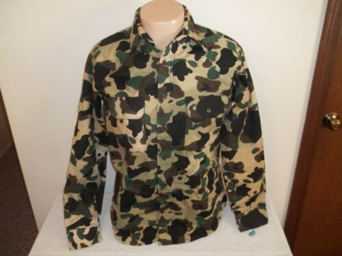 Vintage UNWORN WITH TAG FIVE BROTHER CAMOUFLAGE FLANNEL SHIRT Size Medium