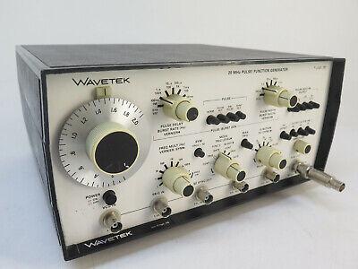 Wavetek 191 - 20 Mhz Pulsefunction Generator
