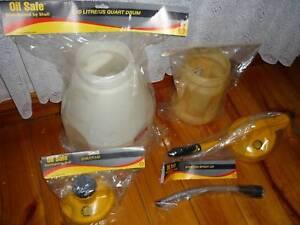 Oil Safe Drum 2&10 Litre lubricant / fluids storage system