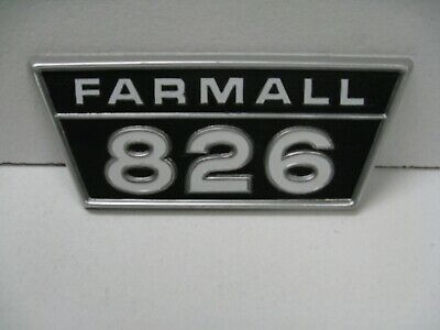 Original Ih Ihc International Harvester Farmall 826 Emblem  2754449r1