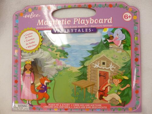 NEW SEALED EEBOO MAGNETIC PLAYBOARD FAIRYTALES AGES 6+ CONTAINS 28 MAGNETS