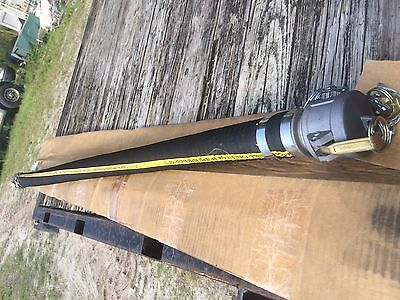 50 X 2 Fuel Transfer Hose. With Cam Lock Fittings. 5 Long. Diesel Gas Bio