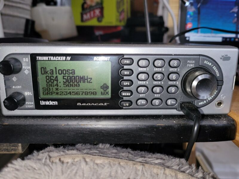 Uniden BCD996T