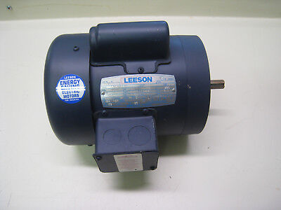 Leeson Electric Motor Model C6c28fc2c 13 Hp 2850 Rpm 1 Phase Cat No 113934 00