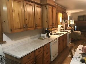 13' solid pine kitchen in good shape SOLD PENDING P/U
