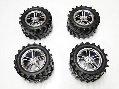 NEW TRAXXAS T-MAXX 2.5 Wheels & Tires E-MAXX RW36, gebruikt tweedehands  verschepen naar Netherlands