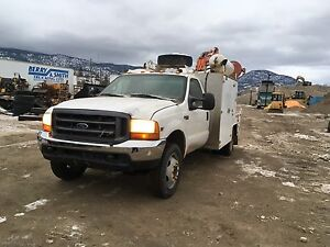 99 f550 4x4 butis service truck